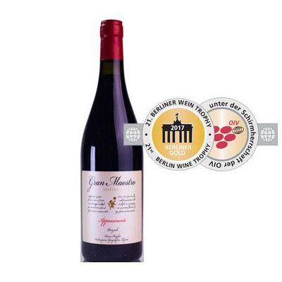 Gran Maestro Rosso Appassimento Puglia 2015 Wijn van ons
