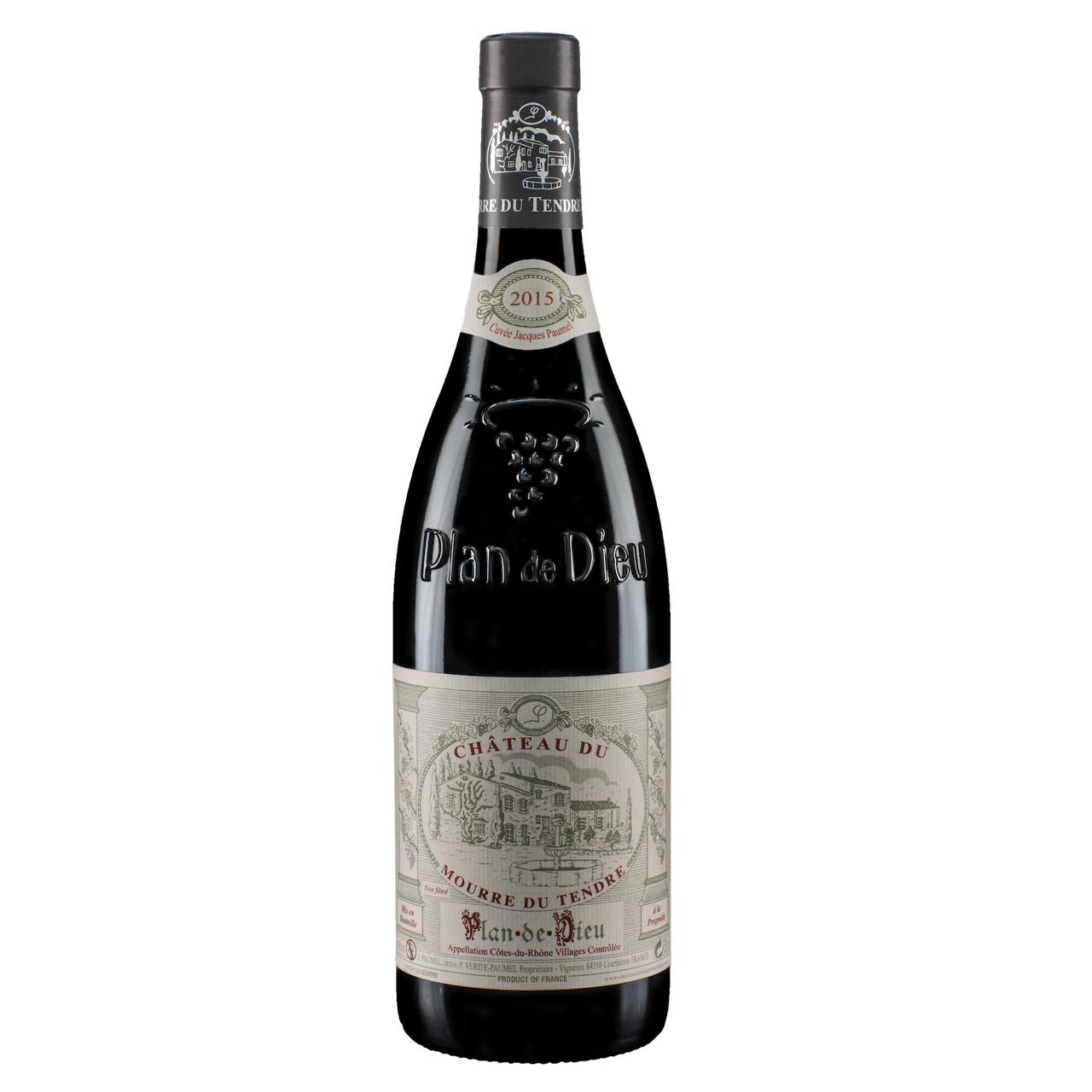 Chateau-du-Mourre-du-Tendre-PlandeDieu-Cuvee-JacquesPaumel-Cote-du-Rhone-wijnvanons