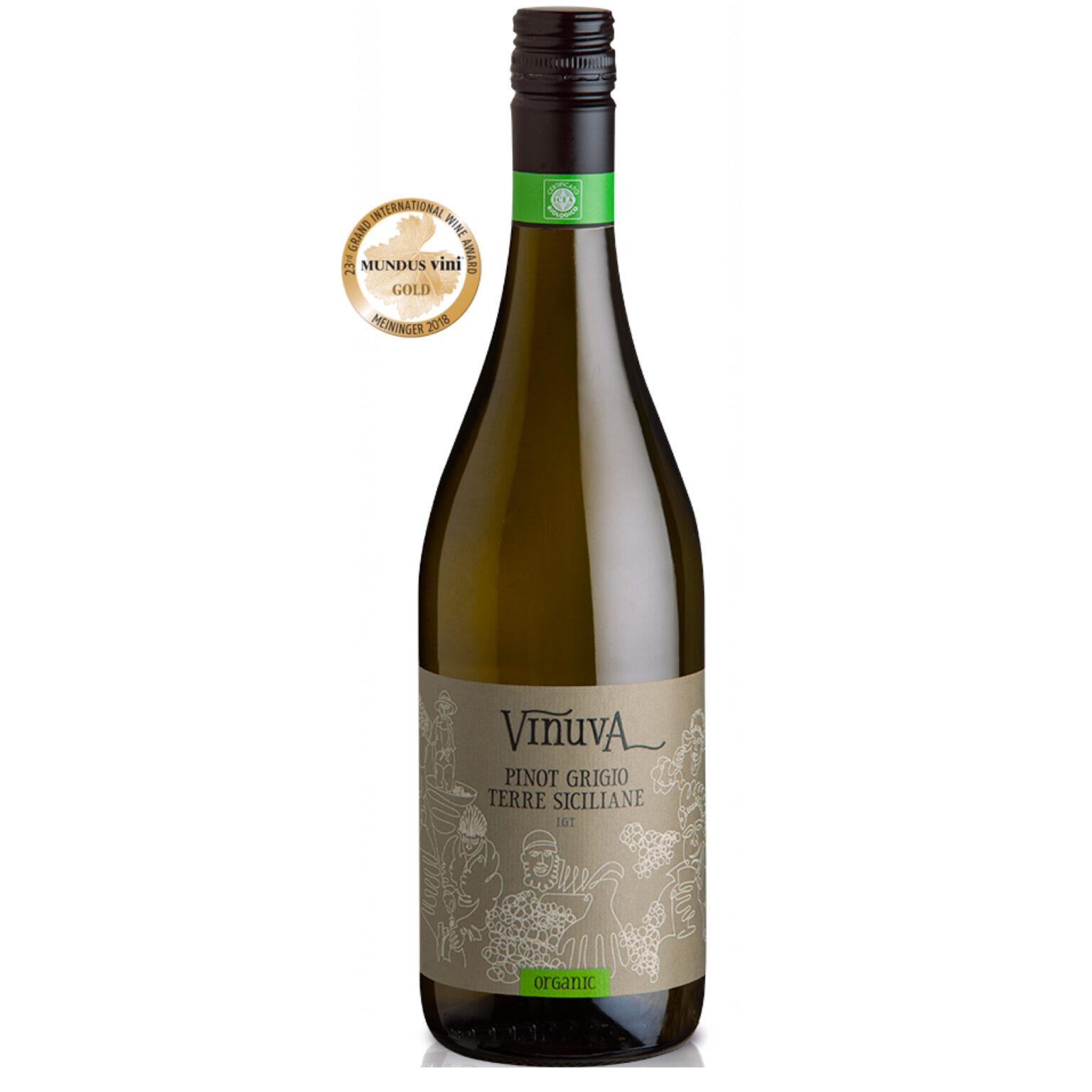 Vinuva Pinot Grigio Terre Siciliane